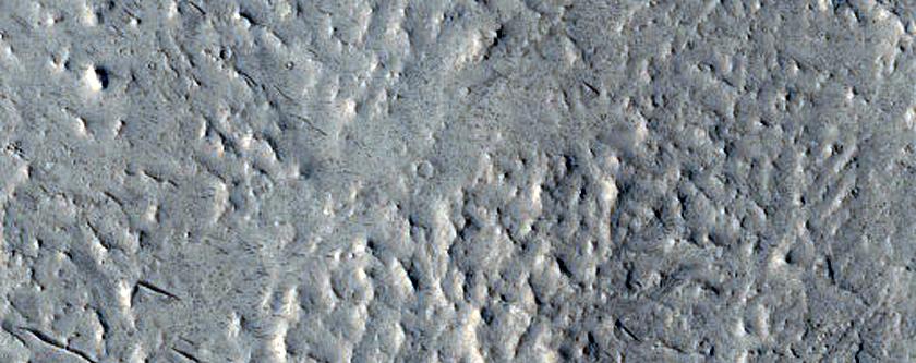 Ridges and Channels in Memnonia Sulci