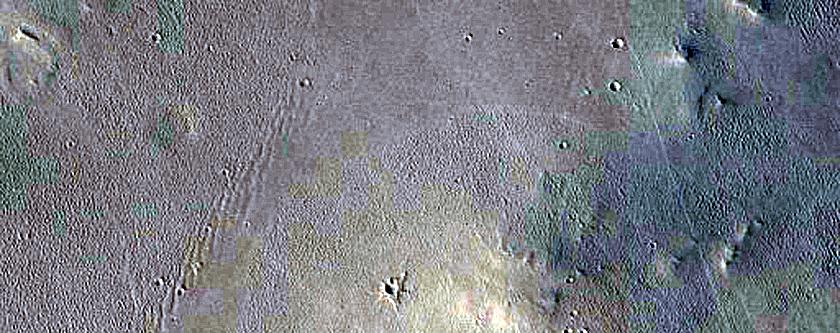 Secondary Crater Field in Arabia Region