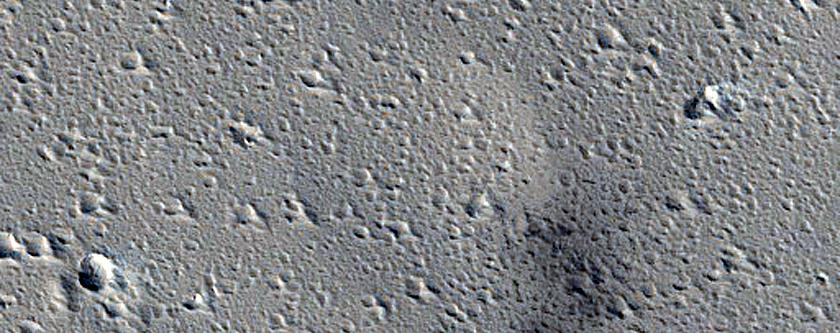 Candidate Recent Impact Site near Labeatis Catenae