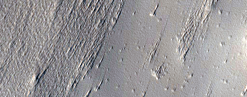 Candidate Recent Impact Site near Pavonis Mons