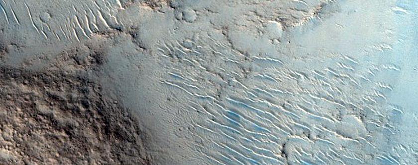 Possible Silica-Bearing Mounds in Isidis Planitia