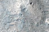 Triple Contact near Hypanis Valles