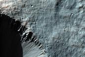 Rayed Crater Smaller Than 1-Kilometer Diameter