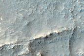 Polygon Fan Deposits in Nilosyrtis Mensae