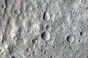 Terrain around Yelwa Crater