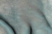 Dune Monitoring in Milankovic Crater