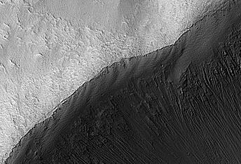 An Oblong Impact Crater in Terra Cimmeria