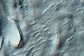 Mound in Equatorial Crater