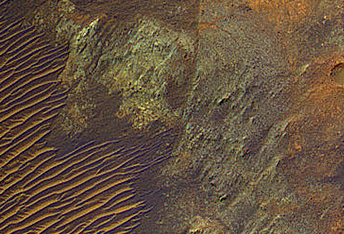 Exposing Colorful Deep Bedrock