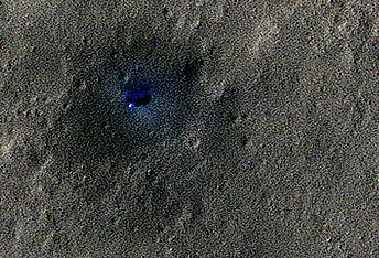 Watching the InSight Lander Region