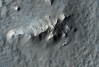 Pitted Material from Tooting Crater