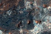 Jarosite Stratigraphy in Mawrth Vallis Region