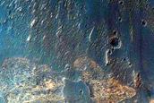Terraced Fan in East Candor Chasma