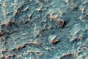 Floor of Saheki Crater