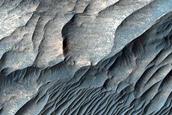 Ridges in West Candor Chasma Floor