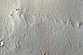 Pit in Upland among Troughs in Western Noctis Labyrinthus