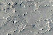 Wavy Terrain in Medusae Fossae Formation