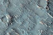 Dissected Crater Interior Deposit