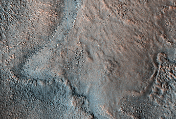 Disrupted Sediments in Acidalia Planitia