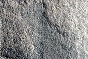 Pedestal Crater in Utopia Planitia