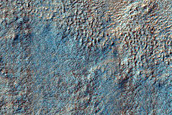 Pedestal Crater in Hellas Planitia