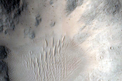 4-Kilometer Rayed Crater