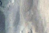 Inverted Channel in Eastern Arabia Terra
