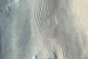 Inverted Channel in Eastern Arabia Terra