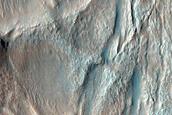 Crater Deposit in Noachis Terra