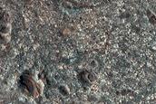 Circular Phyllosilicate-Rich Deposit South of Capri Chasma