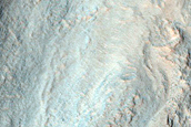 Layered Butte in Northern Hellas Region