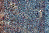 Layered Mound in Utopia Planitia