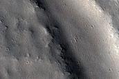 Channels in Mareotis Fossae
