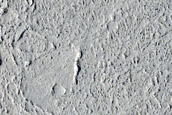 Terrain West of Avernus Dorsa