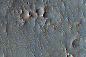 Monitor Slopes of Selevac Crater