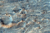 Ridge in Hesperia Planum