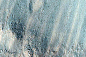 Monitor Slopes of Impact Craters