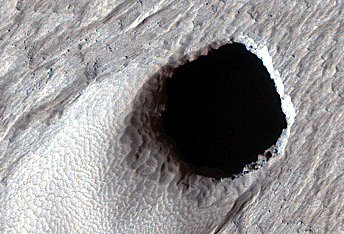 Pit Craters and Giant Volcanoes