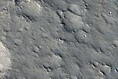 Pits in Utopia Planitia