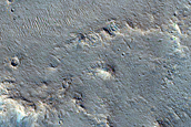 Channels in Xanthe Terra South of Da Vinci Crater