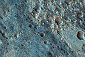 Coprates Chasma Debris Flow Aprons