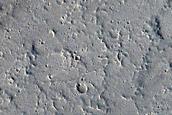 Flows near of Ascraeus Mons