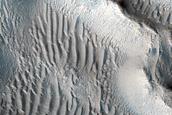 Ringed Ridges in Kasei Valles