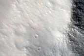 Possible Melt Pools around Tavua Crater