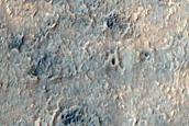 Terrain South of Sirenum Fossae