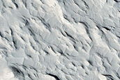 Outcrops of Fluvial Deposits in Mesa Flank