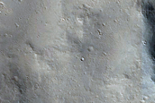 Ejecta Scours South of Central Peak Crater