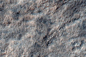 Landforms in Promethei Terra