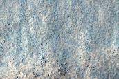 Landforms South of Hellas Planitia