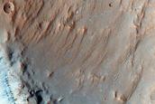 Crater Floor in Terra Sabaea